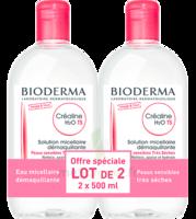 CREALINE TS H2O Solution micellaire sans parfum nettoyante apaisante 2Fl/500ml à MONTEREAU-FAULT-YONNE