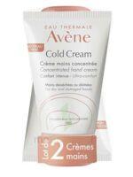 Avène Eau Thermale Cold Cream Duo Crème Mains 2x50ml à MONTEREAU-FAULT-YONNE