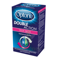 Optone Double Action Solution Oculaire Yeux Secs Fl/10ml à MONTEREAU-FAULT-YONNE