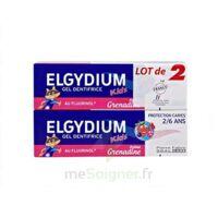 Elgydium Kids Protection Caries Gel Dentifrice Grenadine 2-6ans 2 T/50ml à MONTEREAU-FAULT-YONNE