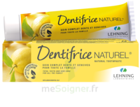 Lehning Pâte Dentifrice Homéopathique Citron T/80g à MONTEREAU-FAULT-YONNE