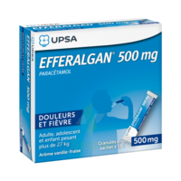 Efferalgan 500 mg Glé en sachet Sach/16 à MONTEREAU-FAULT-YONNE