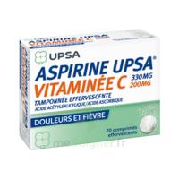 Aspirine Upsa Vitaminee C Tamponnee Effervescente, Comprimé Effervescent à MONTEREAU-FAULT-YONNE