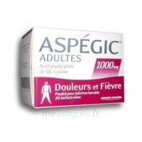 Aspegic Adultes 1000 Mg, Poudre Pour Solution Buvable En Sachet-dose 20 à MONTEREAU-FAULT-YONNE