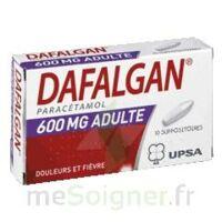Dafalgan 600 Mg Suppositoires Adulte Plq/10 à MONTEREAU-FAULT-YONNE