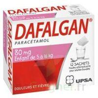 Dafalgan 80 Mg Poudre Effervescente Pour Solution Buvable B/12 à MONTEREAU-FAULT-YONNE