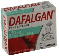 Dafalgan 250 Mg Poudre Effervescente Pour Solution Buvable B/12 à MONTEREAU-FAULT-YONNE