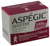 Aspegic Adultes 1000 Mg, Poudre Pour Solution Buvable En Sachet-dose 15 à MONTEREAU-FAULT-YONNE