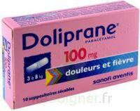 Doliprane 100 Mg Suppositoires Sécables 2plq/5 (10) à MONTEREAU-FAULT-YONNE