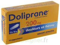 DOLIPRANE 200 mg Suppositoires 2Plq/5 (10) à MONTEREAU-FAULT-YONNE