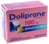 Doliprane 100 Mg Poudre Pour Solution Buvable En Sachet-dose B/12 à MONTEREAU-FAULT-YONNE