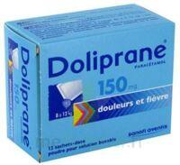 Doliprane 150 Mg Poudre Pour Solution Buvable En Sachet-dose B/12 à MONTEREAU-FAULT-YONNE
