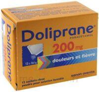 Doliprane 200 Mg Poudre Pour Solution Buvable En Sachet-dose B/12 à MONTEREAU-FAULT-YONNE