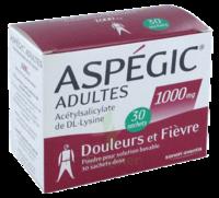 Aspegic Adultes 1000 Mg, Poudre Pour Solution Buvable En Sachet-dose 30 à MONTEREAU-FAULT-YONNE
