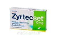 Zyrtecset 10 Mg, Comprimé Pelliculé Sécable à MONTEREAU-FAULT-YONNE
