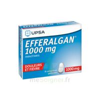 Efferalgan 1000 mg Comprimés pelliculés Plq/8 à MONTEREAU-FAULT-YONNE