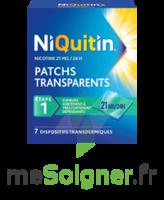NIQUITIN 21 mg/24 heures, dispositif transdermique Sach/7 à MONTEREAU-FAULT-YONNE