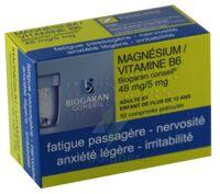MAGNESIUM/VITAMINE B6 BIOGARAN CONSEIL 48 mg/5 mg, comprimé pelliculé à MONTEREAU-FAULT-YONNE