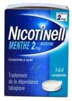 NICOTINELL MENTHE 2 mg, comprimé à sucer Plaq/144 à MONTEREAU-FAULT-YONNE