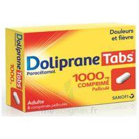 Dolipranetabs 1000 Mg Comprimés Pelliculés Plq/8 à MONTEREAU-FAULT-YONNE