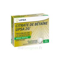 Citrate De Bétaïne Upsa 2 G Comprimés Effervescents Sans Sucre Menthe édulcoré à La Saccharine Sodique T/20 à MONTEREAU-FAULT-YONNE
