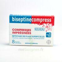 BISEPTINECOMPRESS COMPRESSSES IMPREGNEES, bt 8 à MONTEREAU-FAULT-YONNE