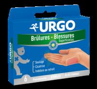 Urgo Brulures-blessures Petit Format X 6 à MONTEREAU-FAULT-YONNE