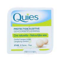 Quies Protection Auditive Cire Naturelle 8 Paires à MONTEREAU-FAULT-YONNE