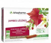 Arkofluide Bio Ultraextract Solution buvable jambes légères 20 Ampoules/10ml à MONTEREAU-FAULT-YONNE