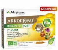 Arkoroyal Immunité Fort Solution Buvable 20 Ampoules/10ml à MONTEREAU-FAULT-YONNE