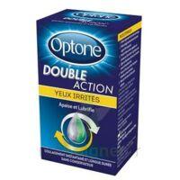 Optone Double Action Solution Oculaire Yeux Irrités Fl/10ml à MONTEREAU-FAULT-YONNE