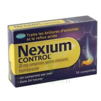 Nexium Control 20 Mg Comprimés Gastro-résistants Plq/14 à MONTEREAU-FAULT-YONNE
