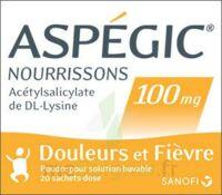 ASPEGIC NOURRISSONS 100 mg, poudre pour solution buvable en sachet-dose à MONTEREAU-FAULT-YONNE