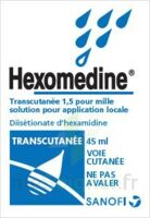 HEXOMEDINE TRANSCUTANEE 1,5 POUR MILLE, solution pour application locale à MONTEREAU-FAULT-YONNE