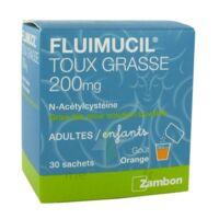 Fluimucil Expectorant Acetylcysteine 200 Mg Sans Sucre, Granulés Pour Solution Buvable En Sachet édulcorés à L'aspartam Et Au Sorbitol à MONTEREAU-FAULT-YONNE
