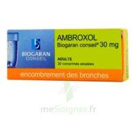 AMBROXOL BIOGARAN CONSEIL 30 mg, comprimé sécable à MONTEREAU-FAULT-YONNE