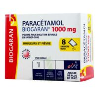 Paracetamol Biogaran 1000 Mg, Poudre Pour Solution Buvable En Sachet-dose à MONTEREAU-FAULT-YONNE