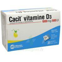 CACIT VITAMINE D3 1000 mg/880 UI, granulés effervescents 90Sach/8g à MONTEREAU-FAULT-YONNE