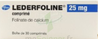 LEDERFOLINE 25 mg, comprimé à MONTEREAU-FAULT-YONNE