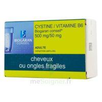 Cystine/vitamine B6 Biogaran Conseil 500 Mg/50 Mg Cpr Pell Plq/120 à MONTEREAU-FAULT-YONNE