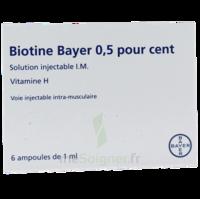 Biotine Bayer 0,5 Pour Cent, Solution Injectable I.m. à MONTEREAU-FAULT-YONNE