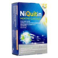 NIQUITIN 2 mg Gom à mâcher médic menthe glaciale sans sucre Plq PVC/PVDC/Alu/30 à MONTEREAU-FAULT-YONNE