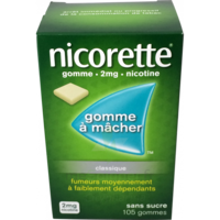 NICORETTE 2 mg Gom à mâcher médic sans sucre menthe fraîche Plq/105gom à MONTEREAU-FAULT-YONNE