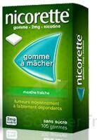 NICORETTE 2 mg Gom à mâcher médic sans sucre menthe fraîche Plq/30gom à MONTEREAU-FAULT-YONNE