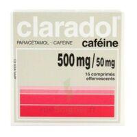 Claradol Cafeine 500 Mg/50 Mg, Comprimé Effervescent à MONTEREAU-FAULT-YONNE