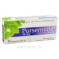 PURSENNIDE 20 mg, comprimé enrobé à MONTEREAU-FAULT-YONNE
