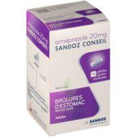 Omeprazole Sandoz Conseil 20 Mg Gél Gastro-rés Plq/7 à MONTEREAU-FAULT-YONNE