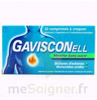 Gavisconell Coprimés à Croquer Sans Sucre Menthe édulcoré à L'aspartam Et à L'acésulfame Potas Plq/24 à MONTEREAU-FAULT-YONNE