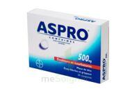 Aspro 500 Mg Comprimés Effervescents B/20 à MONTEREAU-FAULT-YONNE