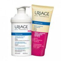 Xémose Crème Relipidante Anti-irritations Fl Pompe/400ml + Huile Lavante 200ml à MONTEREAU-FAULT-YONNE